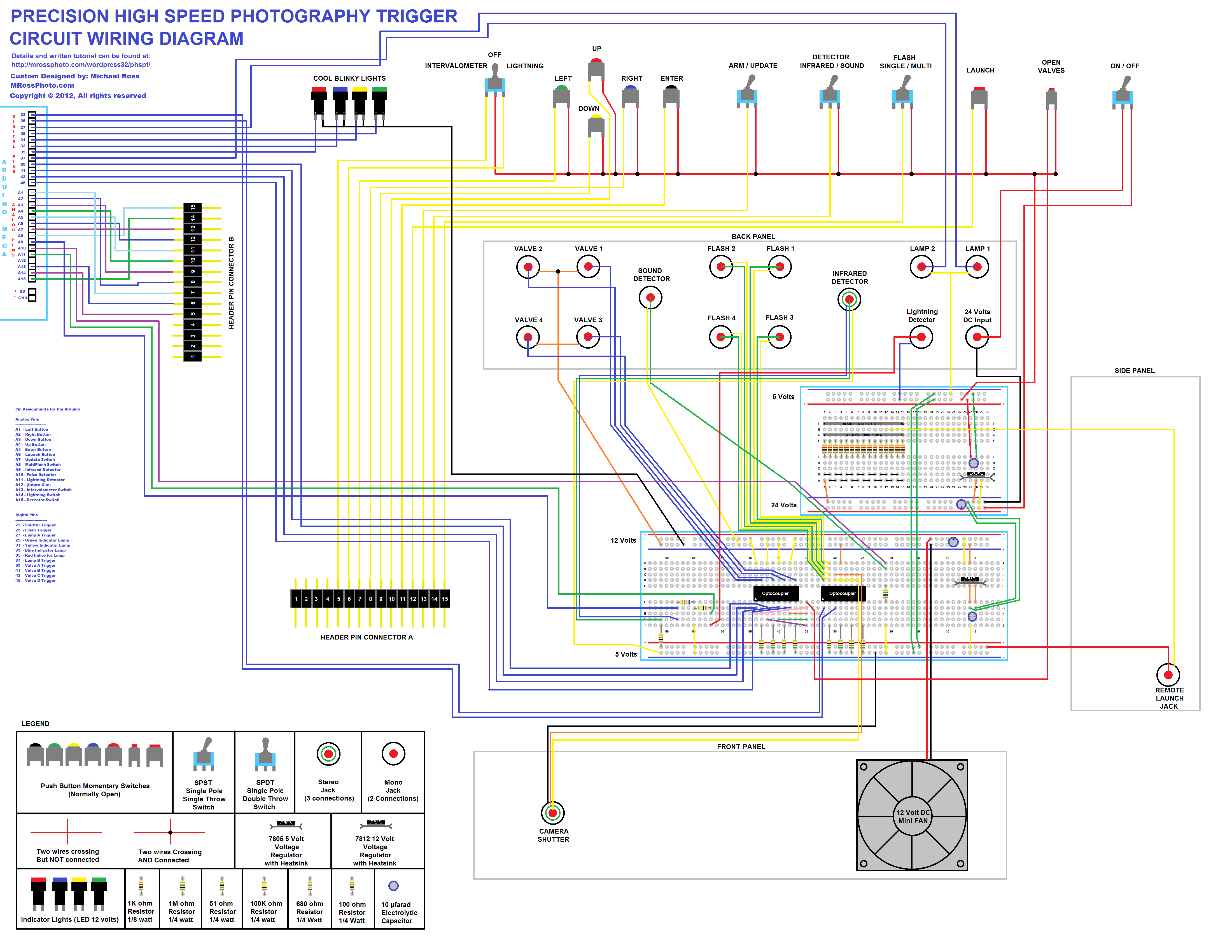 12 volt starter relay wiring diagrams